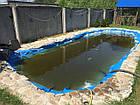 Гидроизоляция водоемов ПВХ пленкой, пайка ПВХ, фото 4