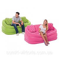 Надувной диван Intex Cafe Loveseat 157x86x69 см , 68573