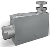 Клапан продолжения потока, 80-60l/min, резьба 1/2BSP