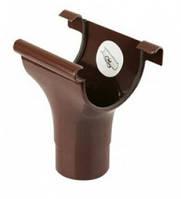 Воронка100 * 75 мм  водосточной системы Марлей (Marley) ,100 мм. Коричневая. Купить в Запорожье
