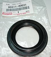 Уплотняющее кольцо, дифференциал (производство TOYOTA ), код запчасти: 90311-40031