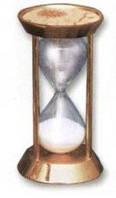 Песочные настольные часы бронзового цвета SEA POWER SG-06G