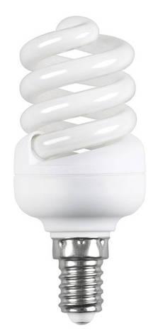 Лампа КЛЛ Volta спираль 230В 15Вт Е14 2700К , фото 2