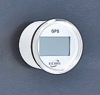 GPS спидометр с компасом ECMS (белый)