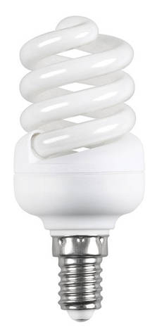 Лампа КЛЛ Volta спіраль 230В 15Вт Е27 4000К, фото 2