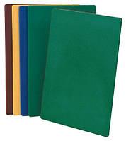 Доска для нарезки 375х500 зеленая
