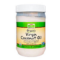 Now Foods Organic Virgin Coconut Oil Кокосовое масло 591 мл