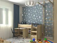 Детская кровать чердак Кембридж