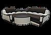 """Угловой диван """"Мадрид"""" в ткани 3 категории (ткань 22)"""