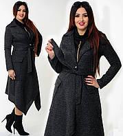 """Стильное кашемировое пальто для пышных дам """" Букле """" Dress Code"""