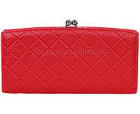 Стильный кошелек из натуральной кожи красного цвета MC-2065-2