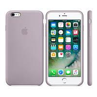 Силиконовый чехол Apple / Original Apple iPhone 6S Silicone case Lavender (MLCV2) Бледно-розовый, фото 1