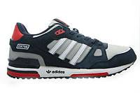 Кроссовки женские Adidas   zx 750 темно серые