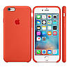 Силиконовый чехол Apple / Original Apple iPhone 6S Silicone case Orange (MKY62) Оранжевый