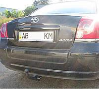 Фаркоп на Toyota Avensis t25 (2003-2009) Тойота Авенсис
