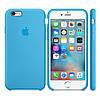 Силиконовый чехол Apple / Original Apple iPhone 6S Silicone case Blue (MKY52) Голубой