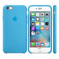 Силиконовый чехол Apple / Original Apple iPhone 6S Silicone case Blue (MKY52) Голубой, фото 1