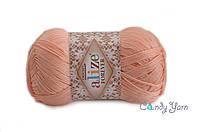Турецкая пряжа Alize forever микрофибра акрил №282 светлый персик