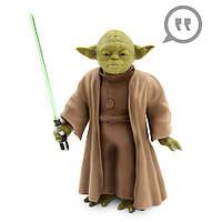 Інтерактивна лялька майстра Йоди - 25 див. Зоряні війни. Дісней оригінал.Yoda Talking Action, фото 1