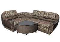 """Угловой диван """"Мадрид"""" в ткани 1 категории (ткань 14), фото 1"""