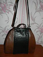 Шикарная кожаная сумка Funbag, фото 1