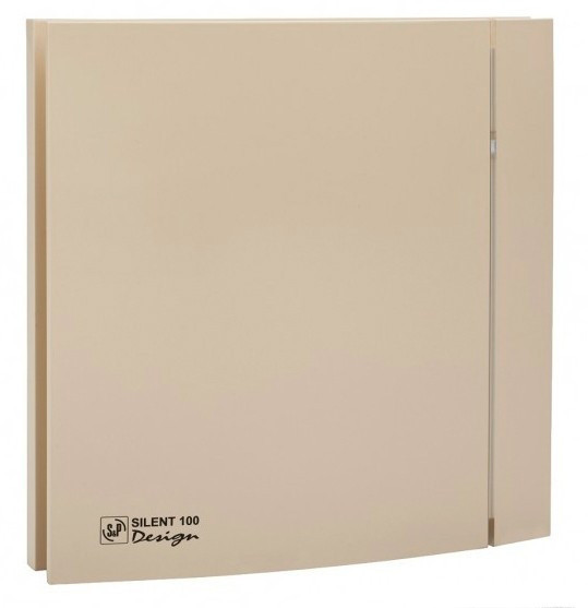Вентилятор Soler&Palau SILENT-100 CZ CHAMPAGNE DESIGN -4C