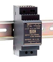 HDR-30-48, HDR-30-24, HDR-30-15, HDR-30-12, HDR-30-5 - однофазные источники питания Mean Well (на DIN-рейку)