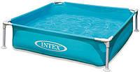 Каркасный бассейн INTEX 57173 122*122*30см детский ***