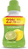 Сироп для газированных напитков Lemon Lime (лимон+лайм) 750ml