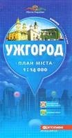 Карта Ужгорода