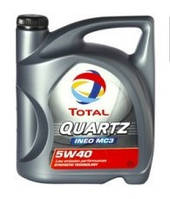 Моторное масло Total QUARTZ INEO MC3 5W-40 5л