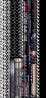 Фидерное удилище Mikado Ultraviolet light Feeder 3.90(до90гр).