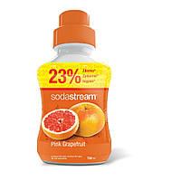 Сироп для газированных напитков Pink Grapefruit (розовый грейпфрут) 750ml