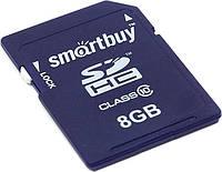 Карта памяти SDHC 8Gb SmartBuy Class10