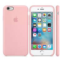 Силиконовый чехол Apple / Original Apple iPhone 6S Silicone case Pink (MLCU2) Розовый, фото 1