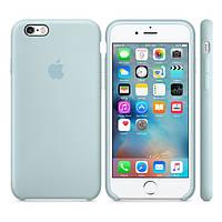 Силиконовый чехол Apple / Original Apple iPhone 6S Silicone case Turquoise (MLCW2) Бирюзовый, фото 1