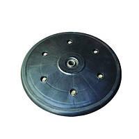 """Прикотуюче колесо в зборі ( диск поліпропілен ) з підшипником 1"""" x 12"""""""