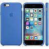 Силиконовый чехол Apple / Original Apple iPhone 6S Silicone case Royal Blue (MM632) Синий