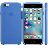 Силиконовый чехол Apple / Original Apple iPhone 6S Silicone case Royal Blue (MM632) Синий, фото 1
