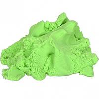 Кинетический песок зеленый 1000 г