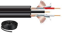 Микрофонный кабель в нарезку Monacor AC-53/SW
