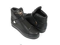 Черные стильные ботинки Prima D' arte