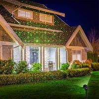 Лазер для подсветки дома уличный Baby Sbreath / Угол 170градусов
