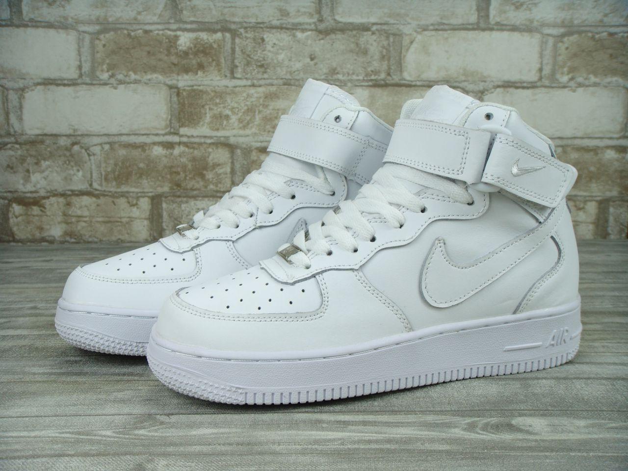 Кроссовки Nike Air Force 1 High White(ТОП РЕПЛИКА ААА+) — в Категории