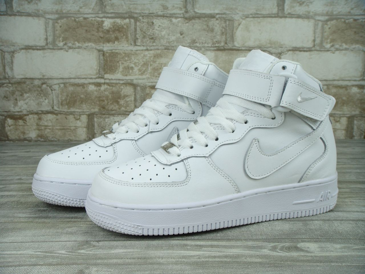 bf8d21c9 Кроссовки Nike Air Force 1 High White(ТОП РЕПЛИКА ААА+), цена 1 216 ...
