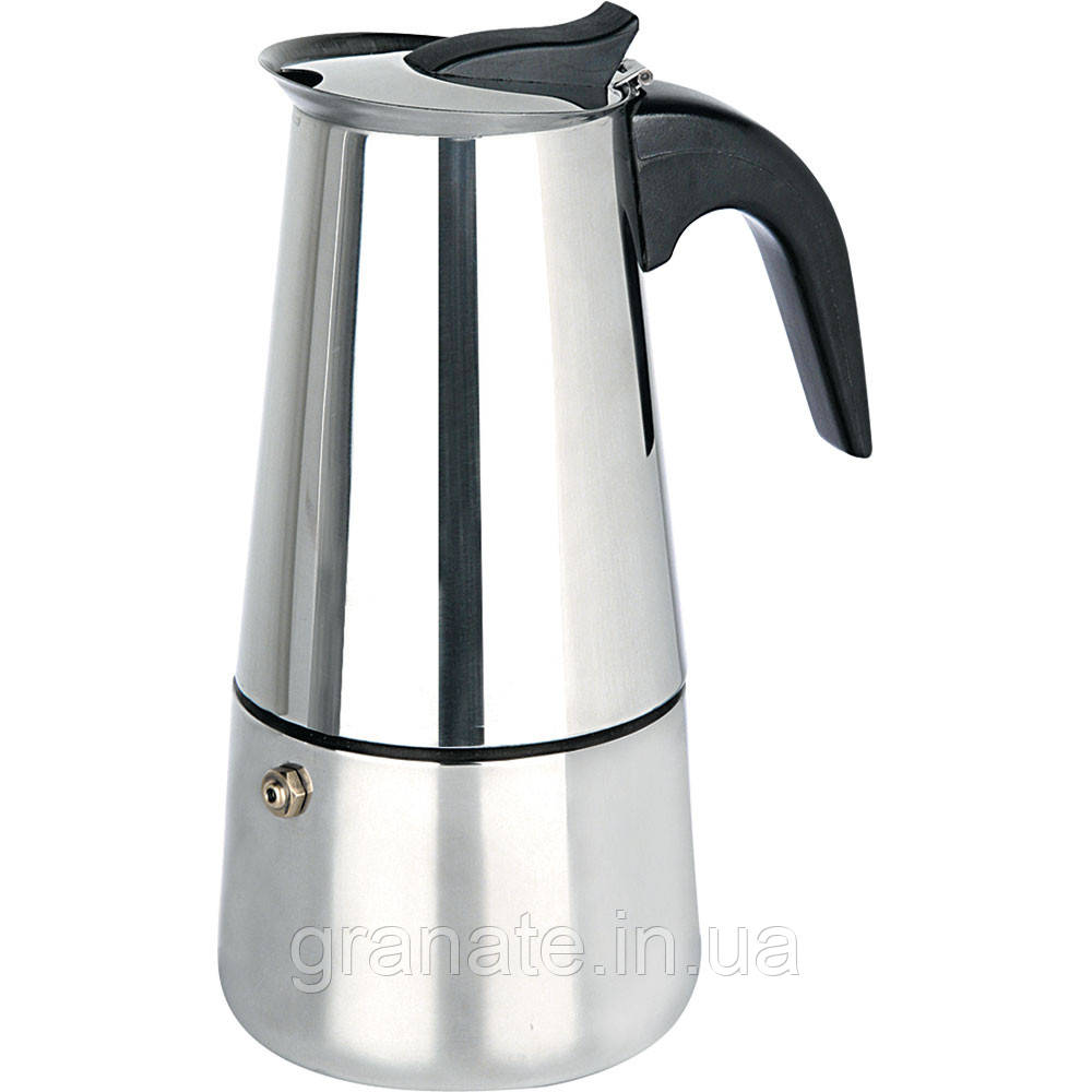 Кофеварка гейзерная на 9 чашек (700мл)