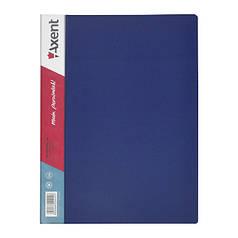 1020-02-А Дисплей-книга 20 файлів, синя