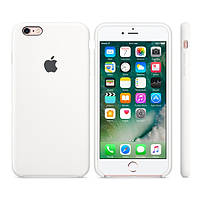 Силиконовый чехол Apple / Original Apple iPhone 6S Silicone case White (MKY12) Белый, фото 1
