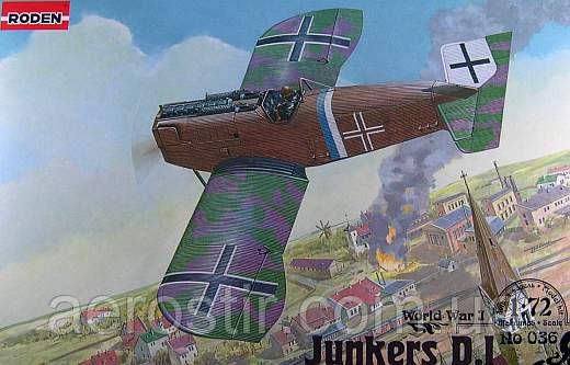 Junkers D.I [Late] 1/72 RODEN 036