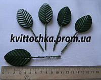 Декоративные листья на ножке цвет - зелёный